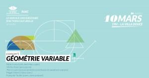 Concert Géométrie Variable